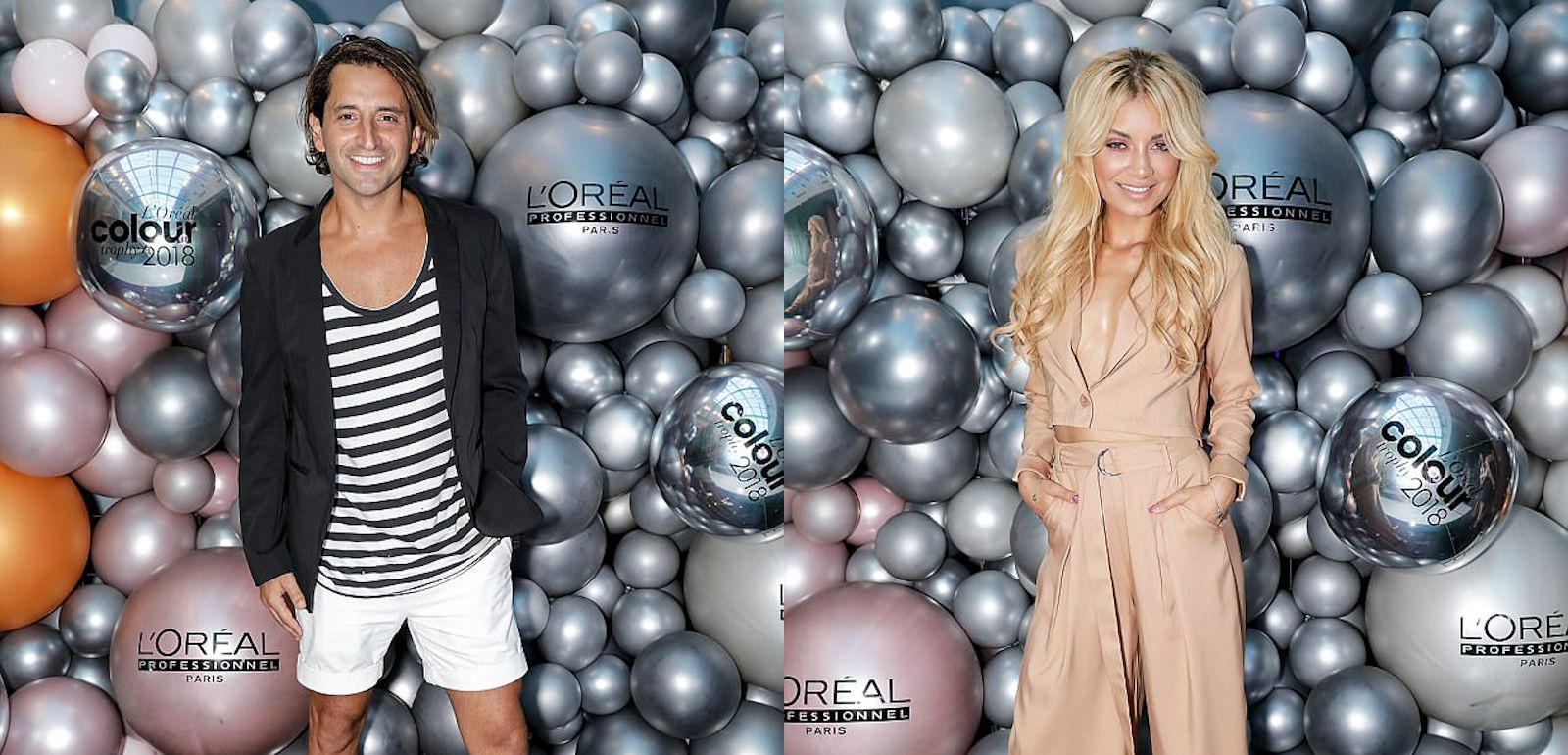 balloon wall models loreal