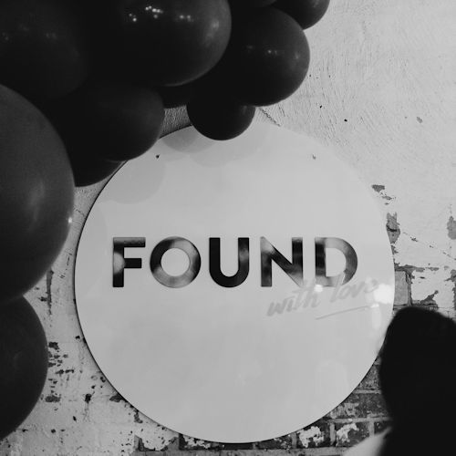 found with love BW L